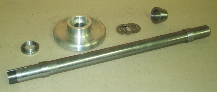 The Component Parts Of Drawtube Are Shown In Next Picture To Left There Two Bushings That Center Lathes Spindle